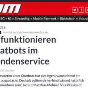 IT Zoom Chatbots Artikel