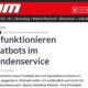 IT Zoom Chatbots Artikel