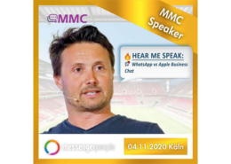 Titel MMC 2020 Matthias mehner Speaker Messenger Marketing