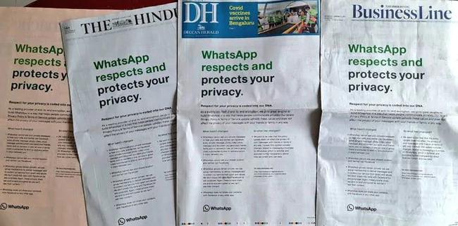 WhatsApp Datenschutz änderung