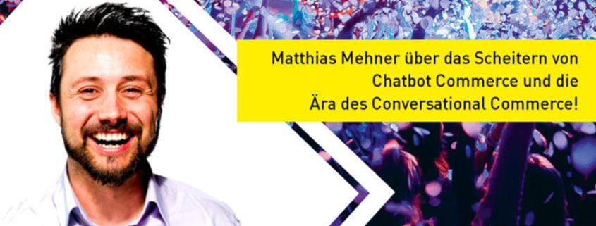 Messenger Matze WhatsApp Experte Conversational Commerce
