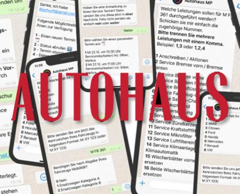 WhatsApp im Autohaus