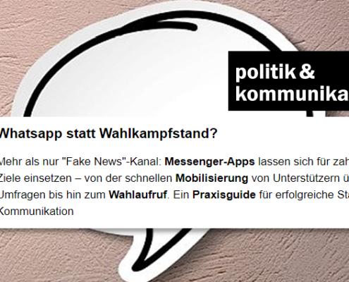 WhatsApp Wahlkampf