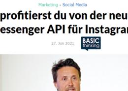 Basic Thinking Instagram API Mehner