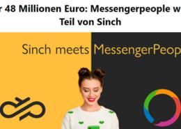 Sinch kauft MessengerPeople Titel